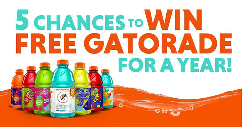 Gatordae Giveaway From Tops
