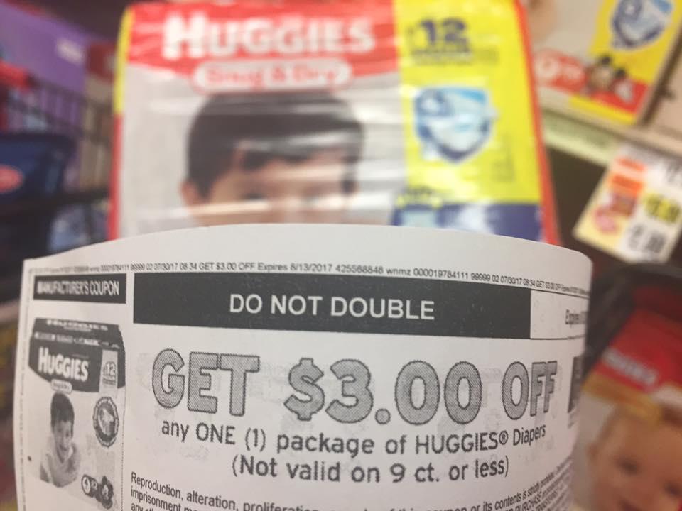 Huggies Deal At Tops