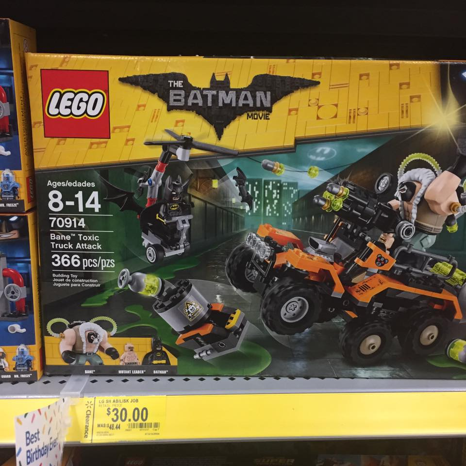 Lego Batman Walmart Toy Clearance