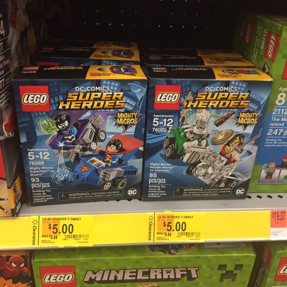 Lego Super Heros Walmart Toy Clearance