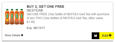 Nestea Coupon Digital Dollar General