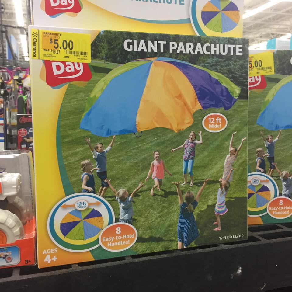 Paruchute Hotwheels Walmart Toy Clearance