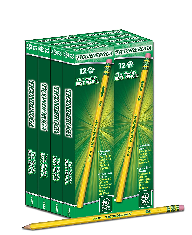Dixon Ticonderoga Pencils Deal