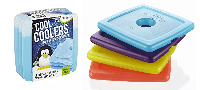Fit & Fresh Cool Coolers Slim Lunch Ice Pack