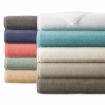 JCPenney Home Quick Dri Textured Solid Bath Towels
