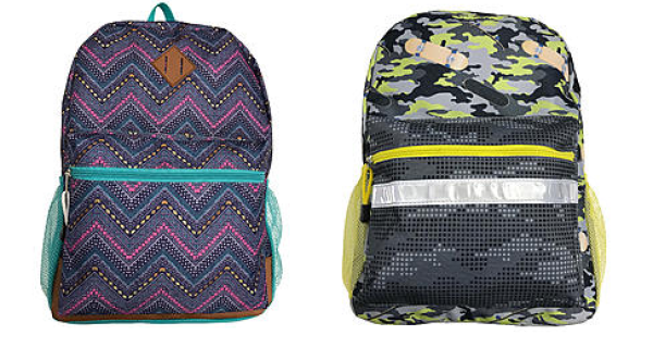 Kids Backpacks Starting At $5 At Kmart