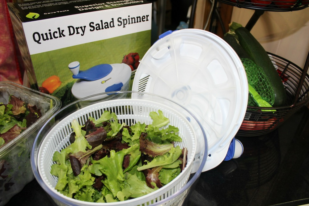 Quick Dry Salad Spinner 2