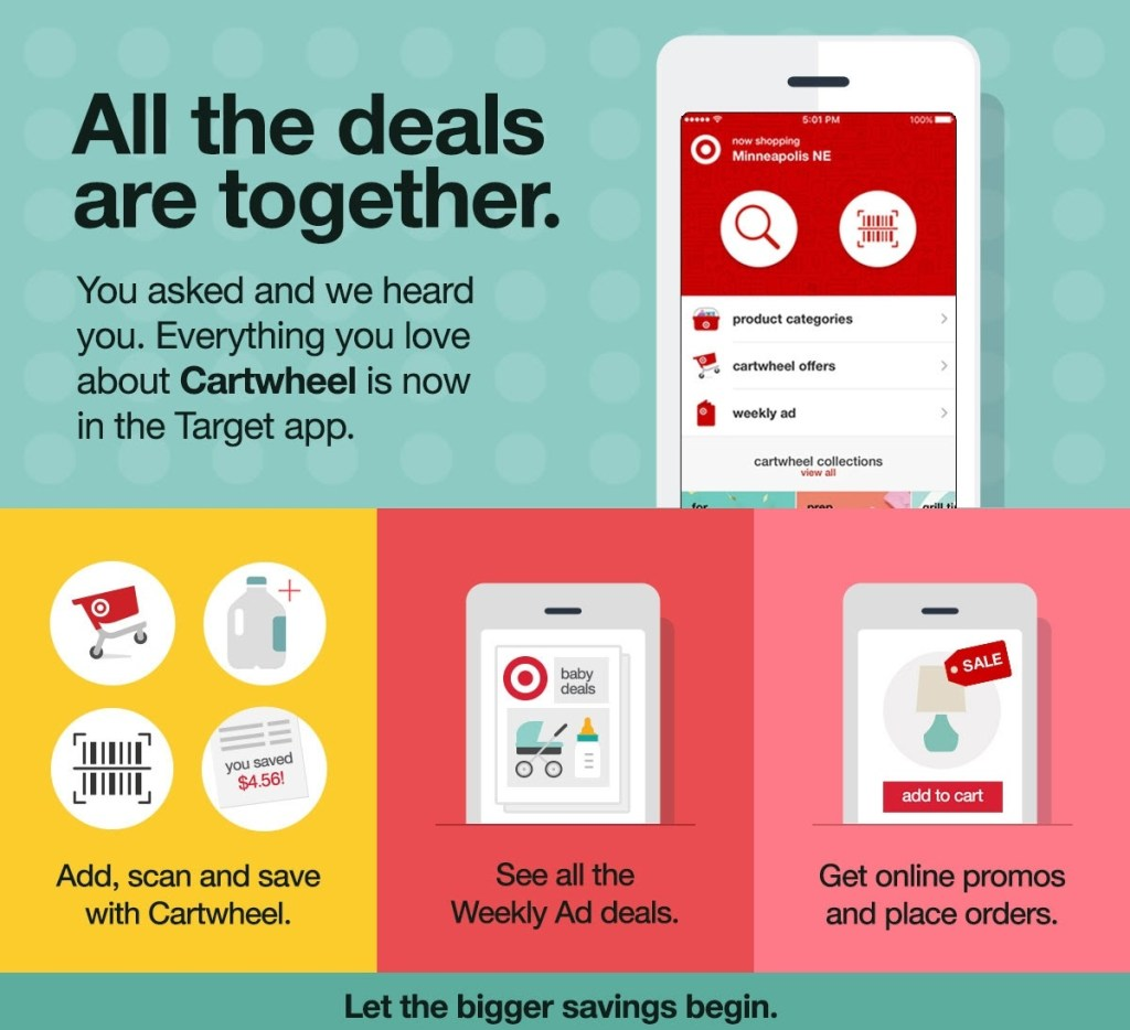 Target Cartwheel Moving To New App