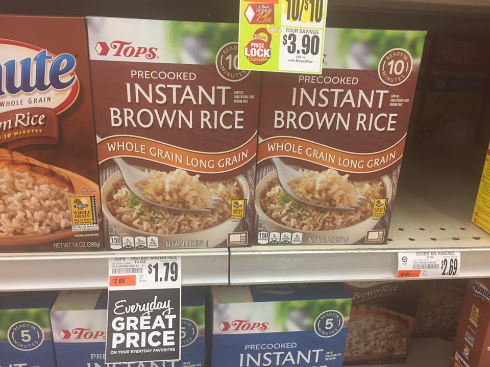 Tops Brand Brown Rice