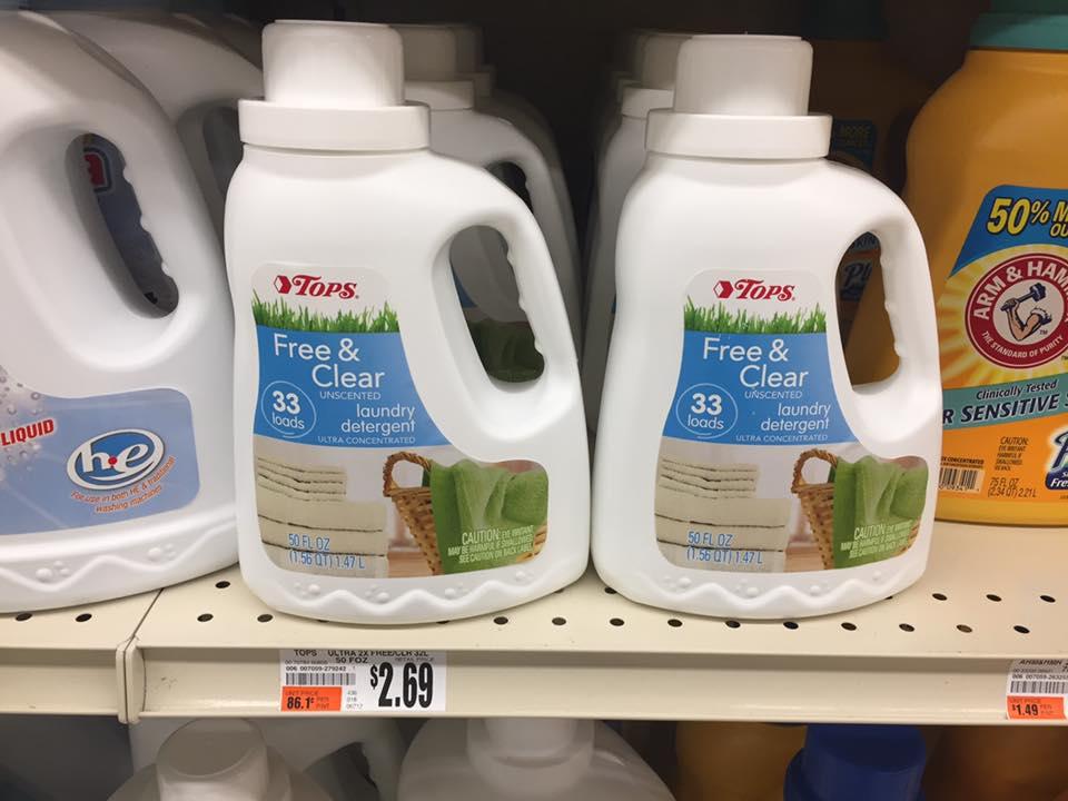 Tops Brand Detergent