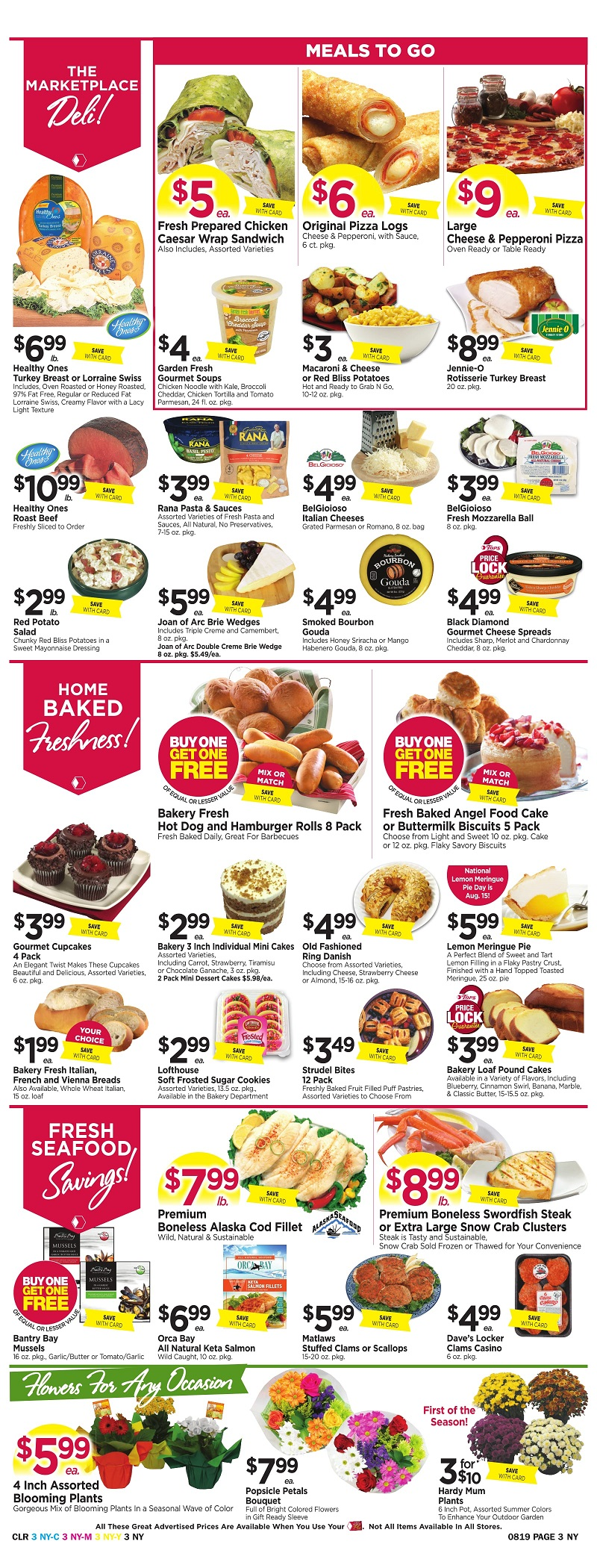 Tops Markets Ad Scan Week Of 8 13 Page 3