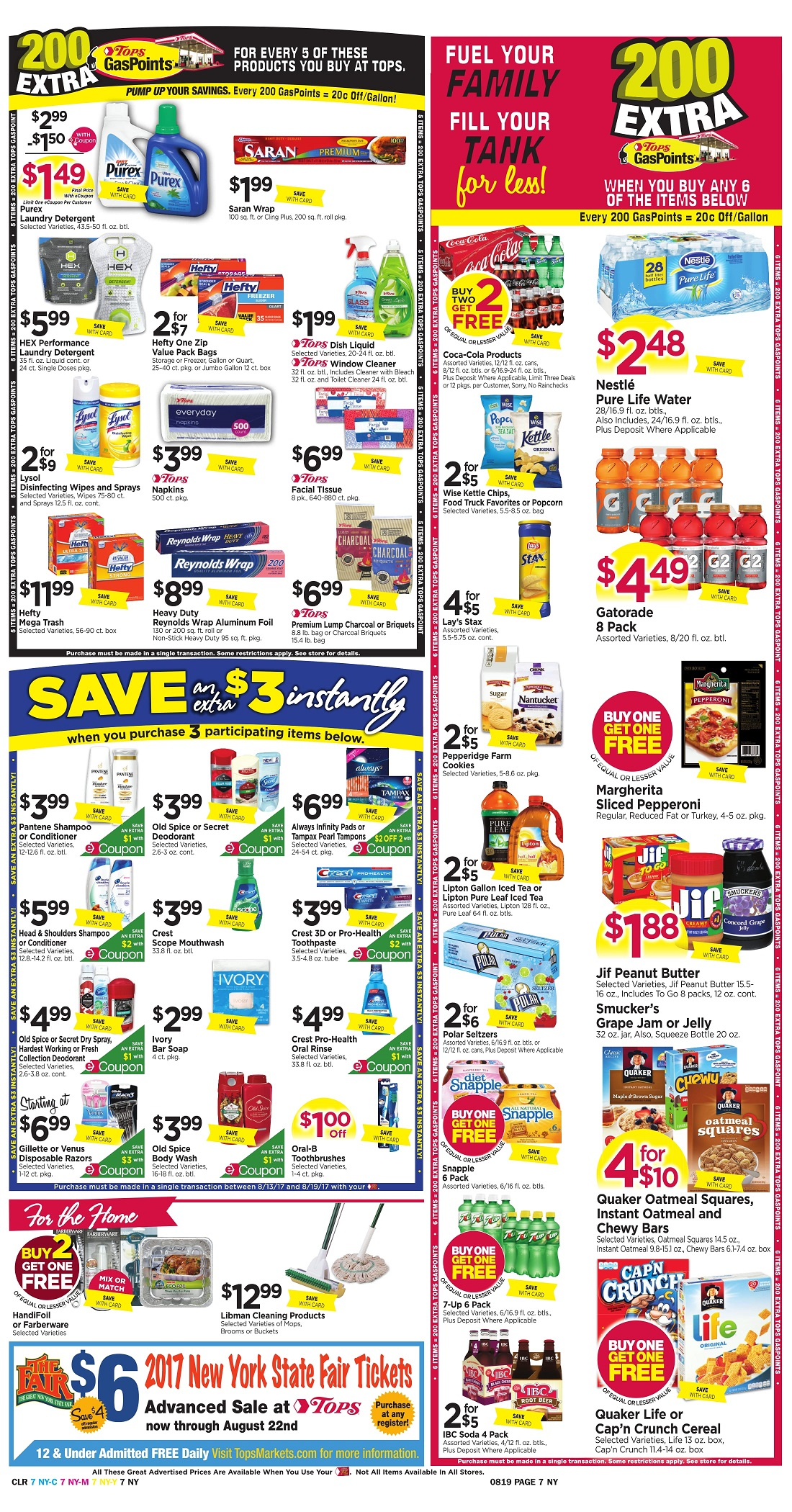 Tops Markets Ad Scan Week Of 8 13 Page 7