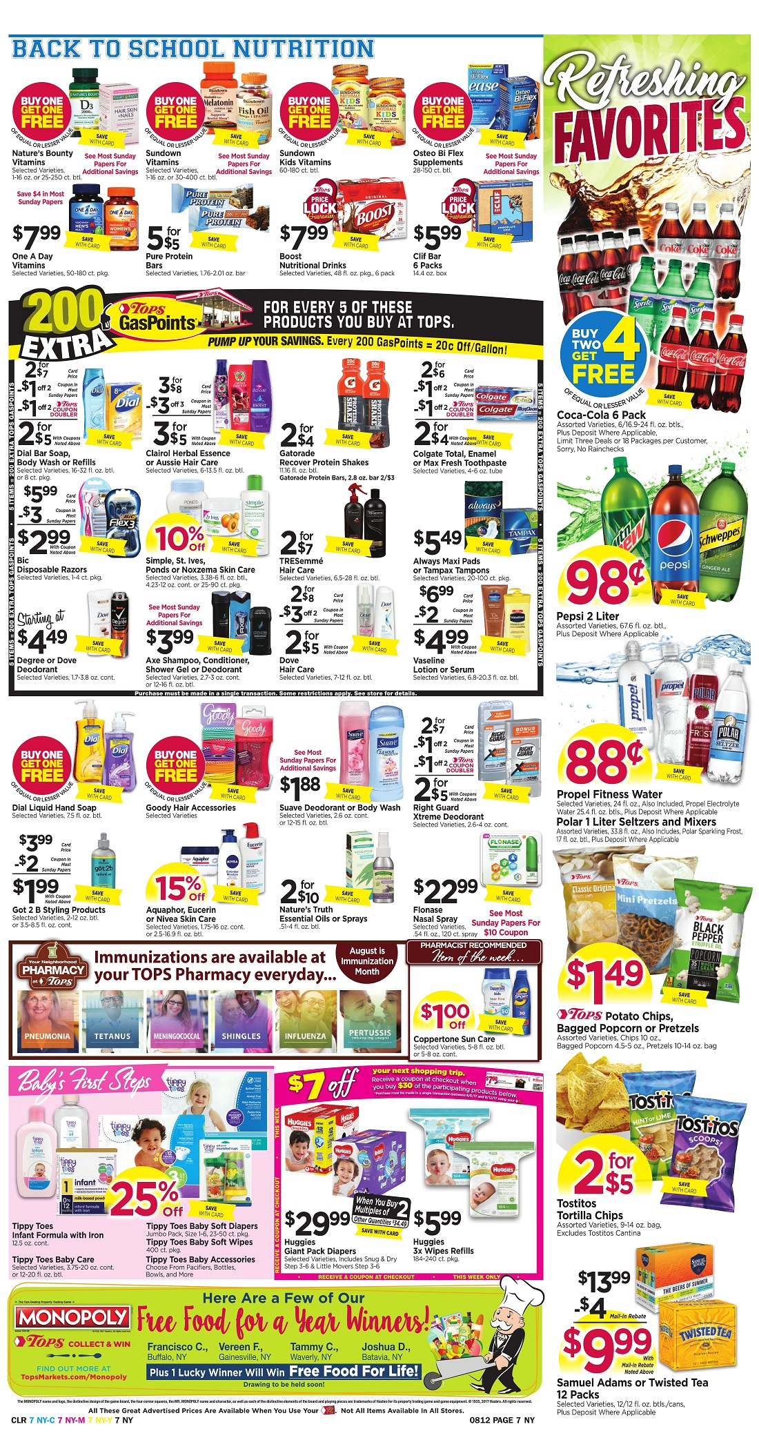 Tops Markets Ad Scan Week Of 8 6 Page 7