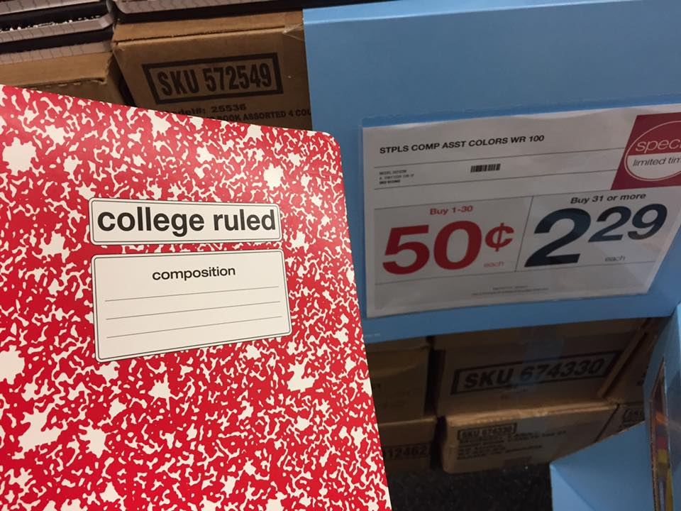 Composition Notebooks At Staples