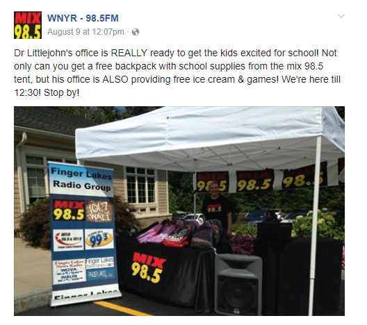 Free Backpack With School Supplies From The Mix 98 5