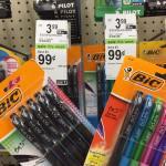 Free Bic Pens At Walgreens
