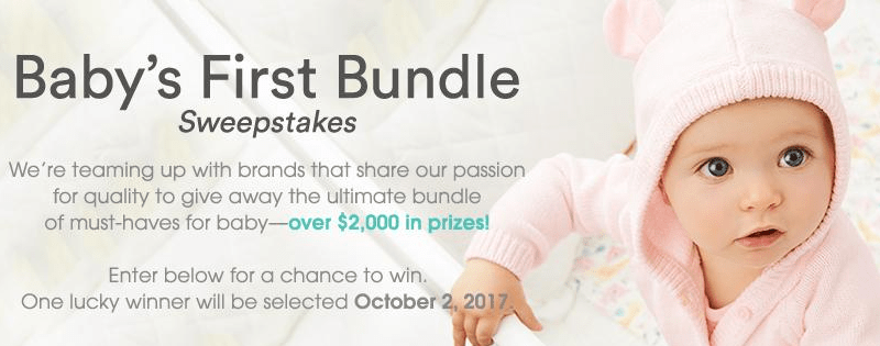 Baby Sweepstakes