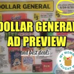 Dollar General Ad Scan & Best Deals Week Of 9 24 17