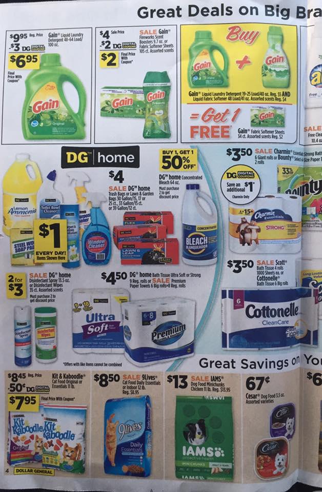 Dollar General Ad Week 9 17 Page 4