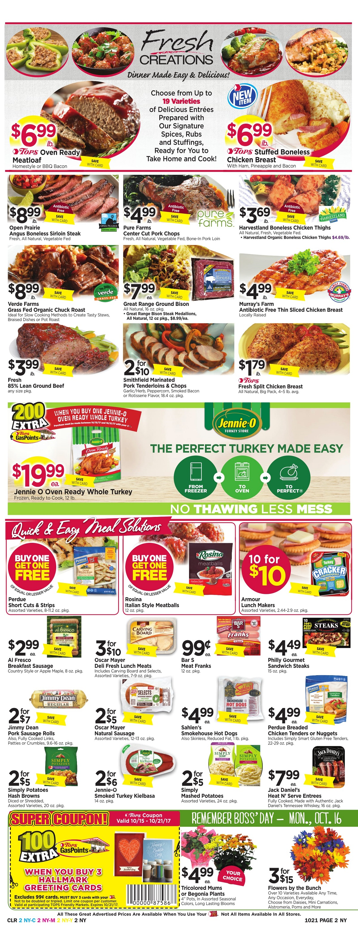 Tops Markets Ad Preview Week 10 15 Page 2