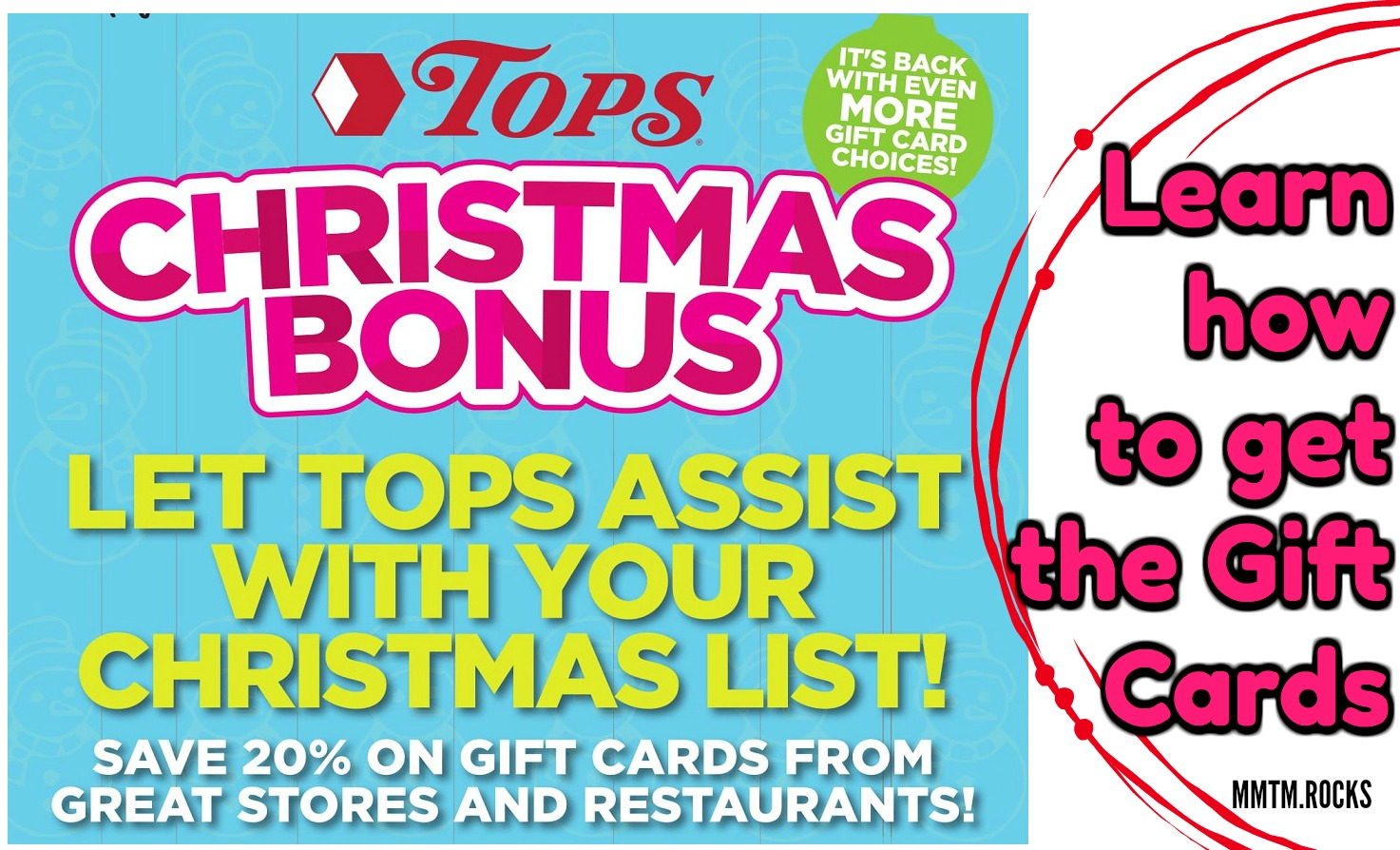 Save 10 Off A 50 Gift Card At Tops Markets Promotion