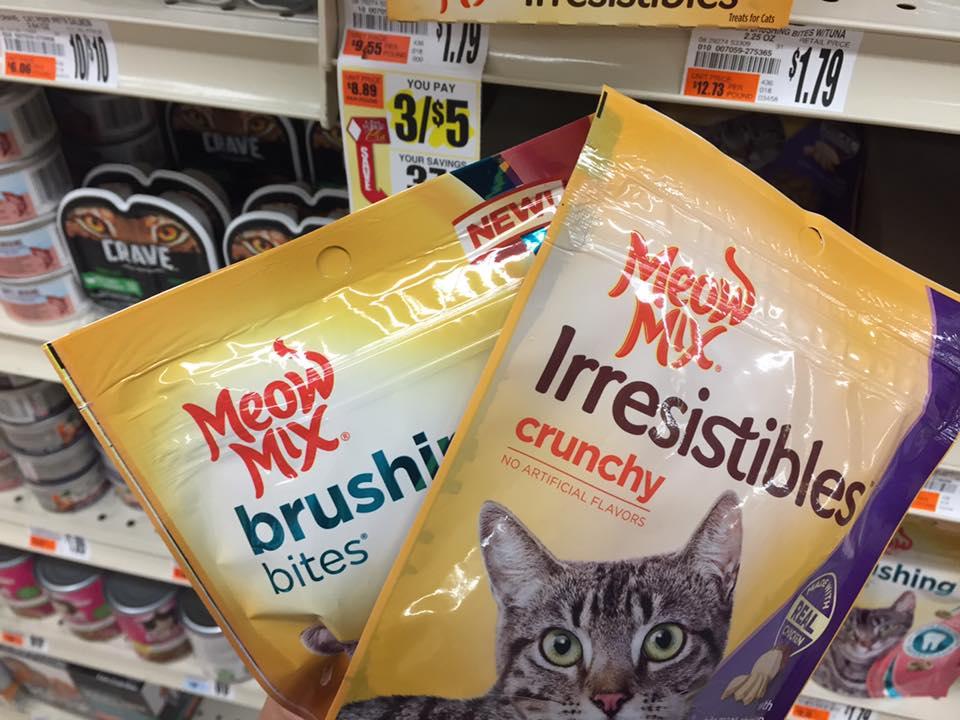 Meow Mix Treat At Tops
