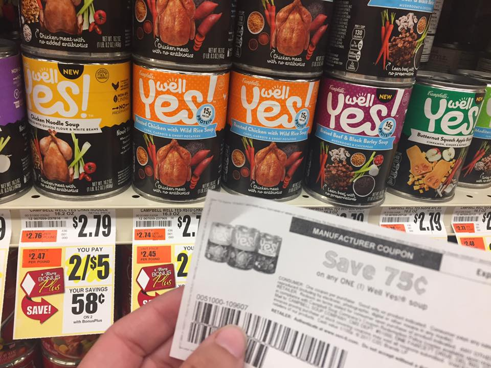 Well Yes Soup Deal At Tops