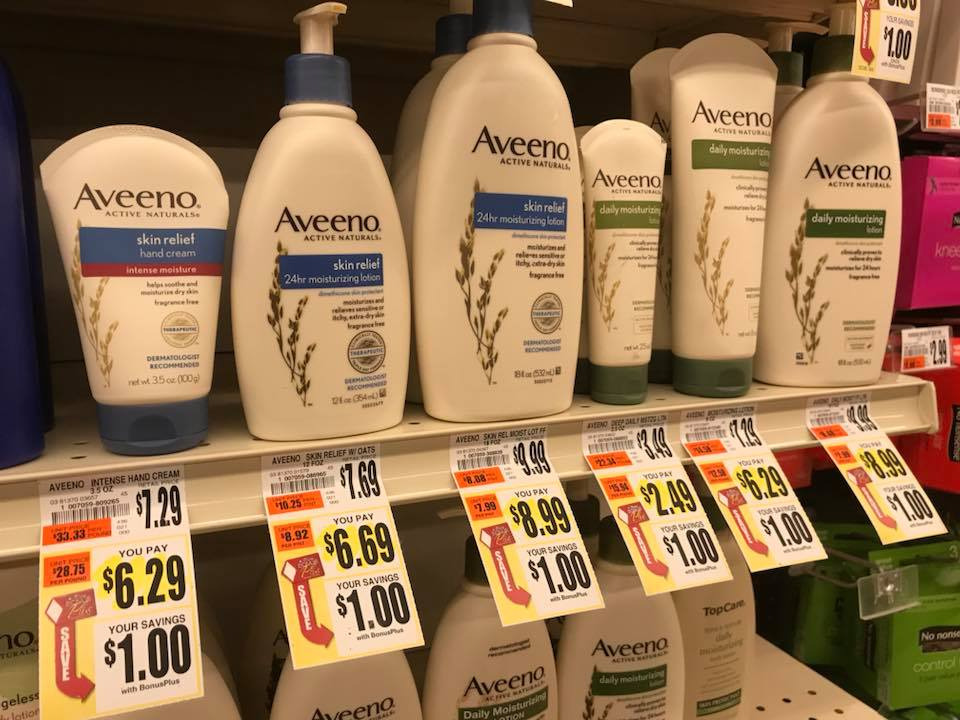 Aveeno Lotion At Tops Markets