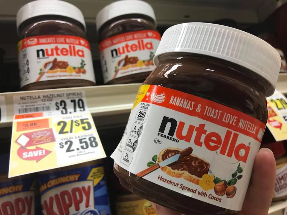 Nutella $0 50 At Tops Markets