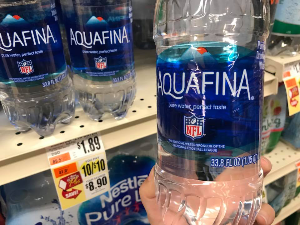 Aquafina Bottle Water At Tops Markets