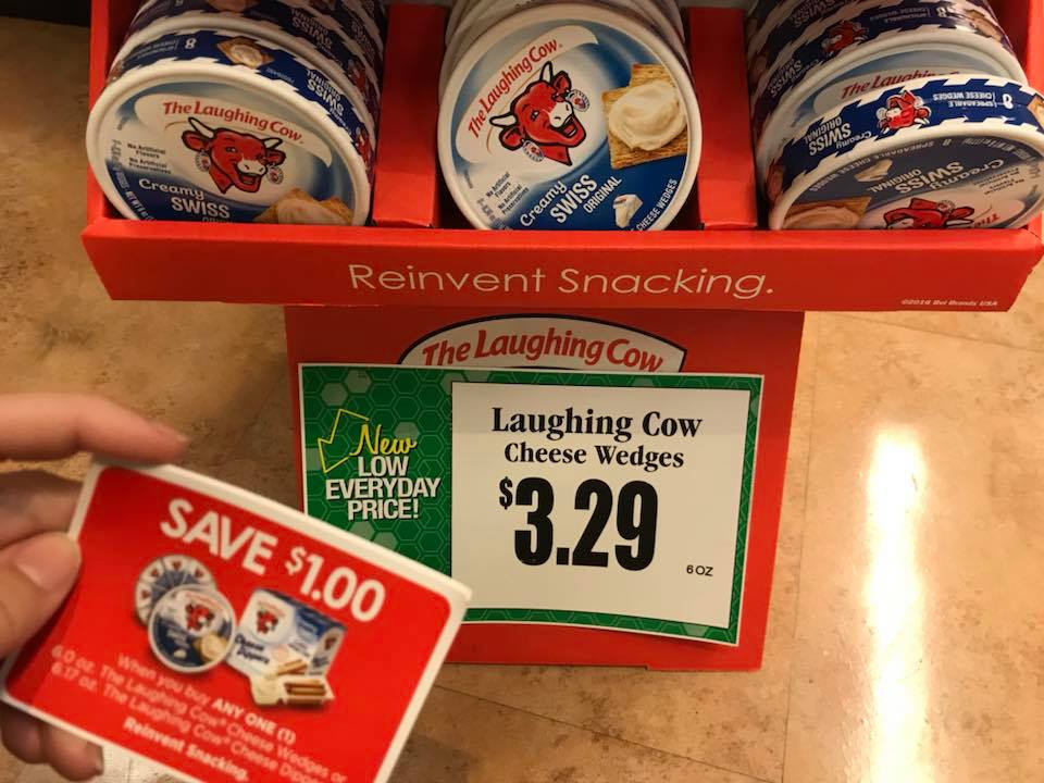 Laughing Cow At Tops Markets