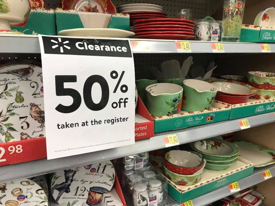 50% Off Christmas At Walmart 2