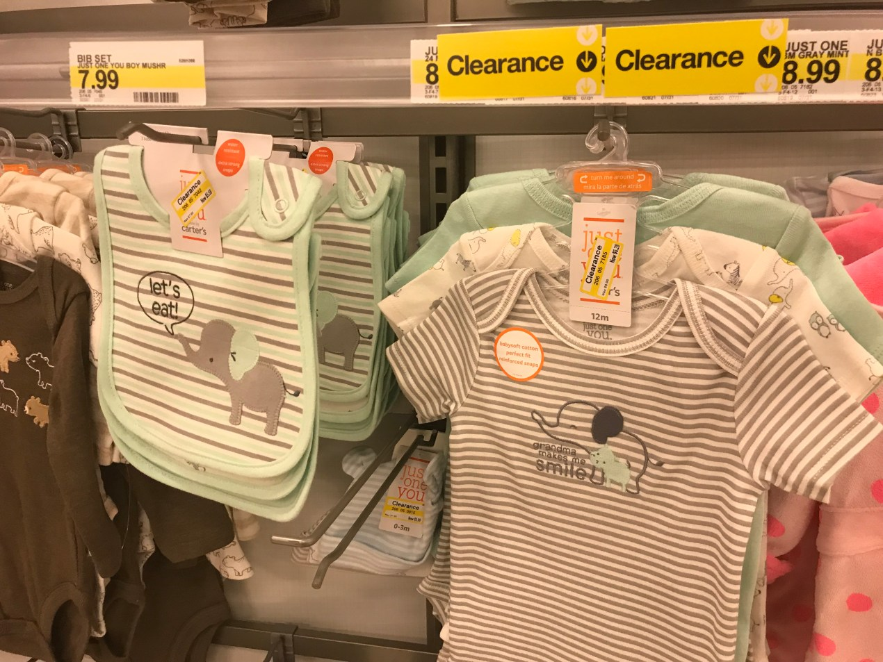 Baby Clothes Clearanced At Target