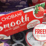 Chobani Smooth Free At Tops Markets