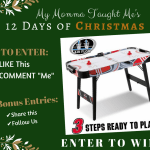 My Momma Taught Me's 12 Days Giveaway Day 8 2017