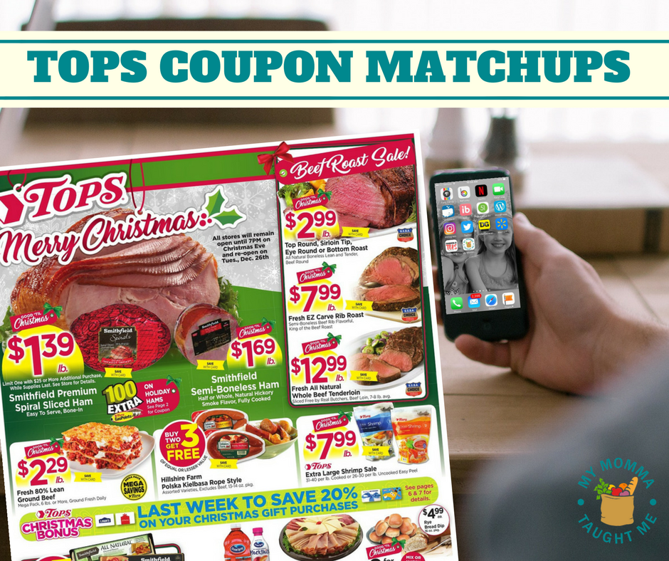 Tops Coupon Matchups 12 17