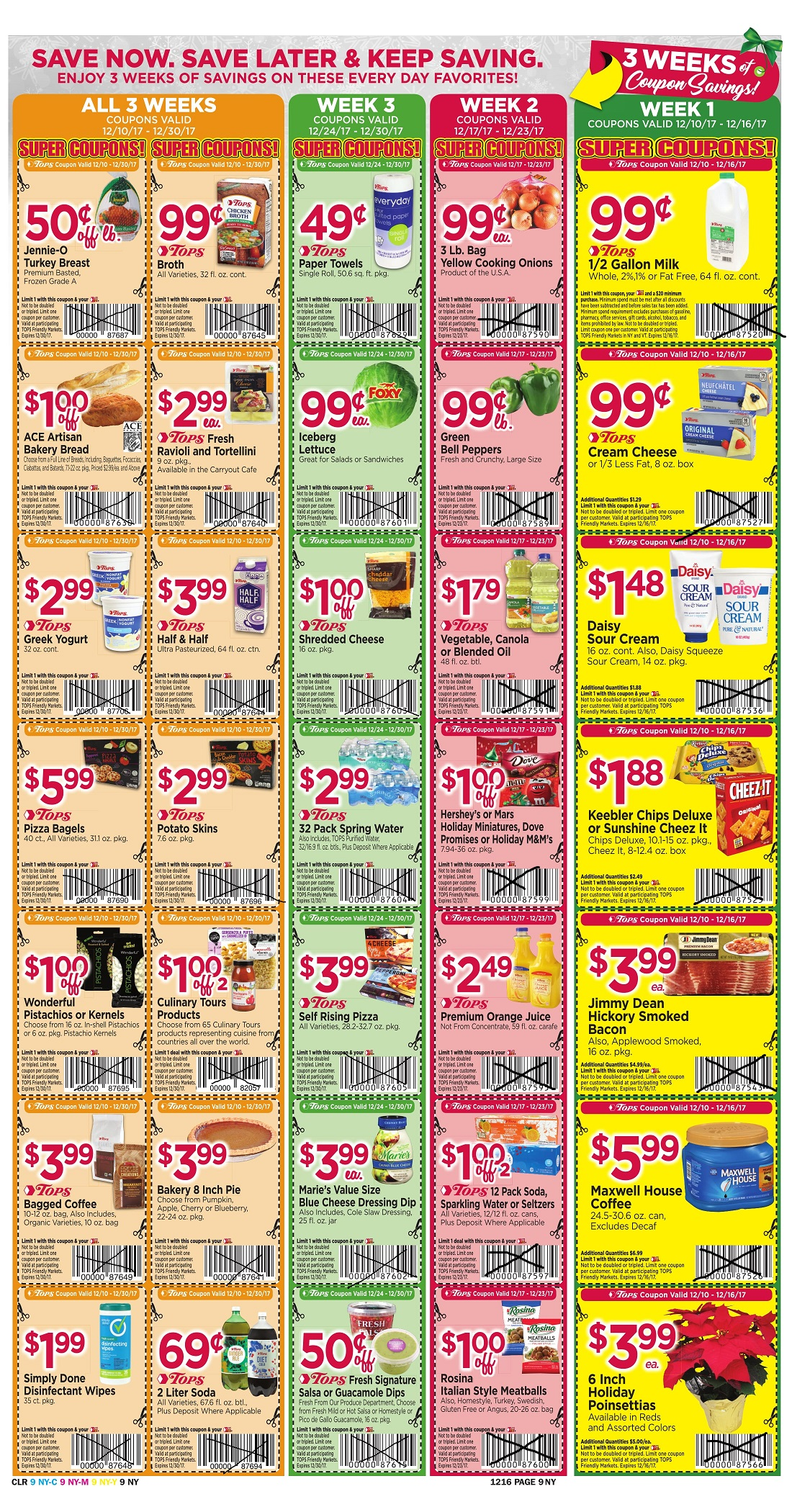 Tops Markets Ad Preview Week 12 10 Page 9