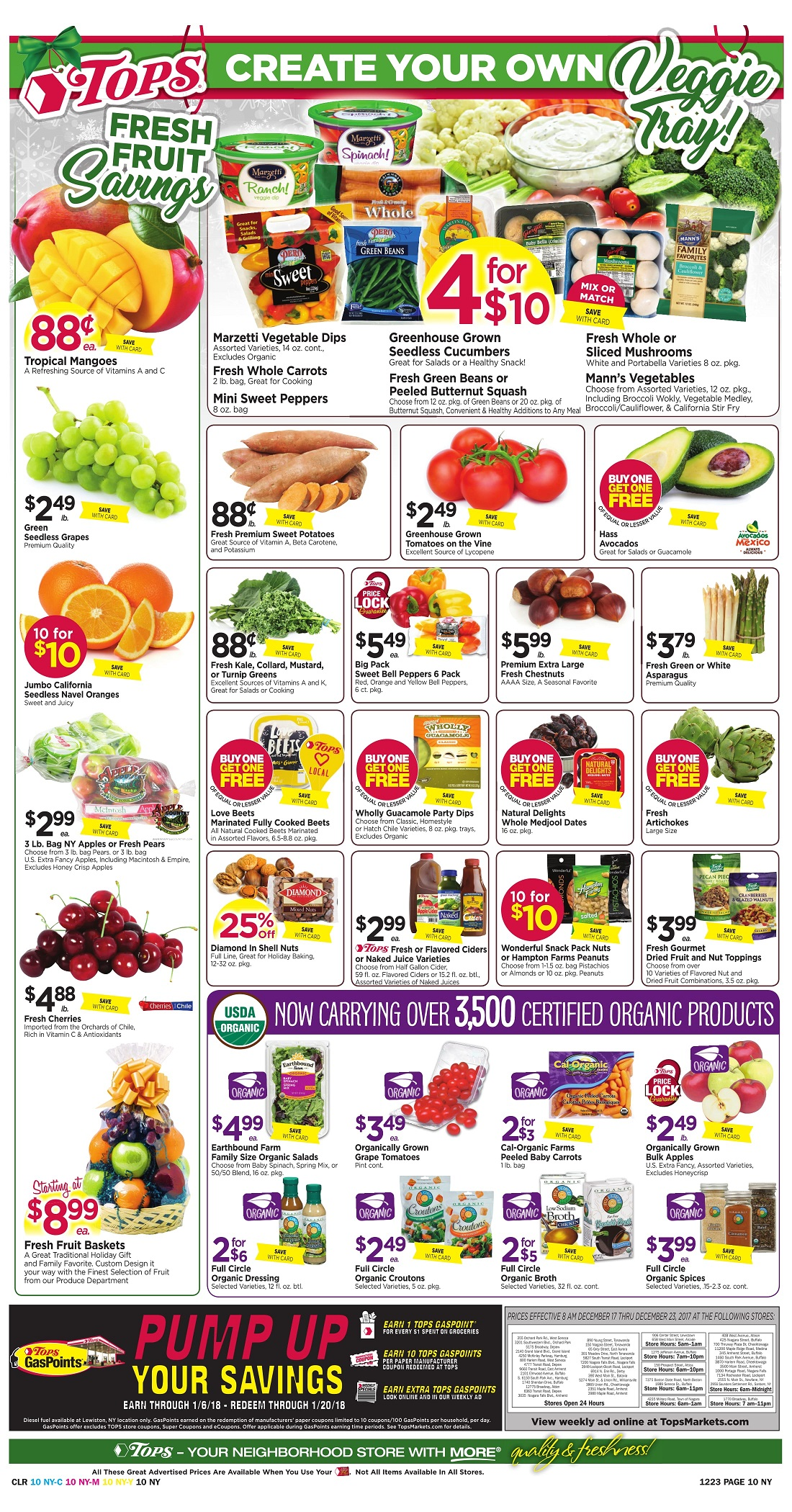Tops Markets Ad Scan Week 12 17 Page 10