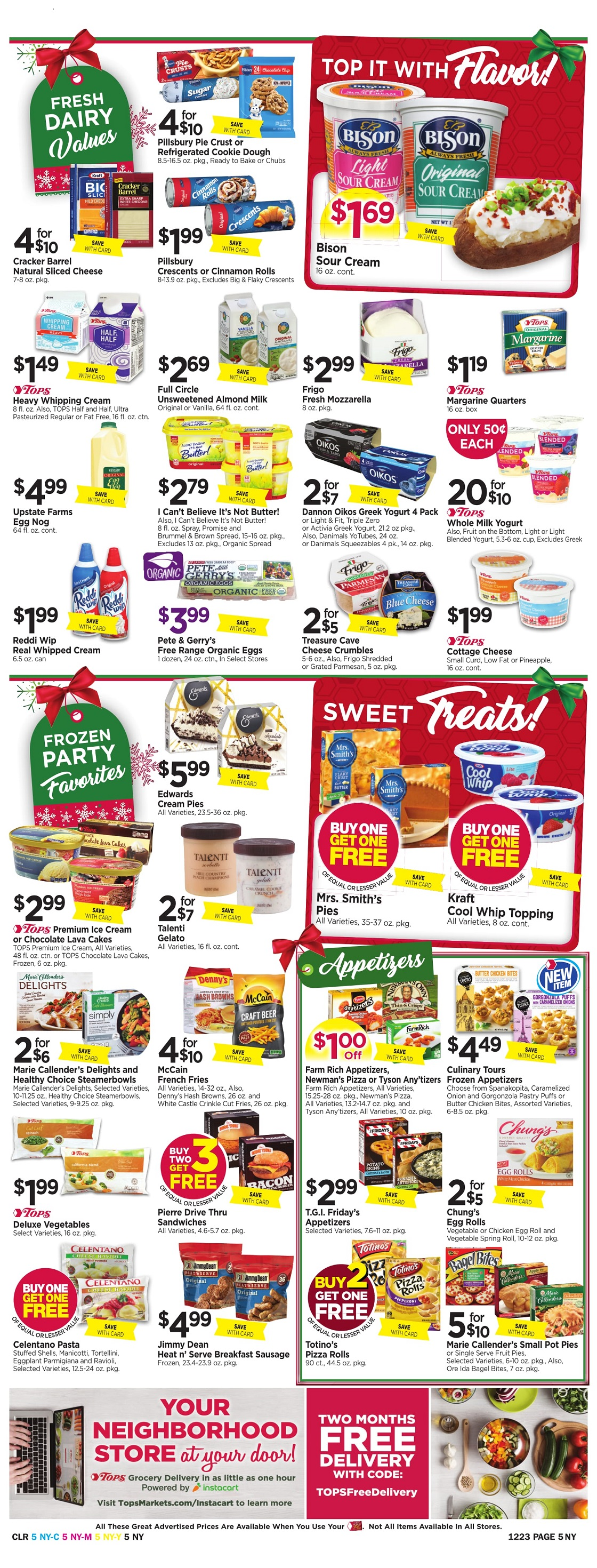 Tops Markets Ad Scan Week 12 17 Page 5