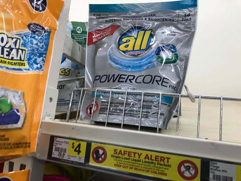 All Powercore Pods At Dollar General
