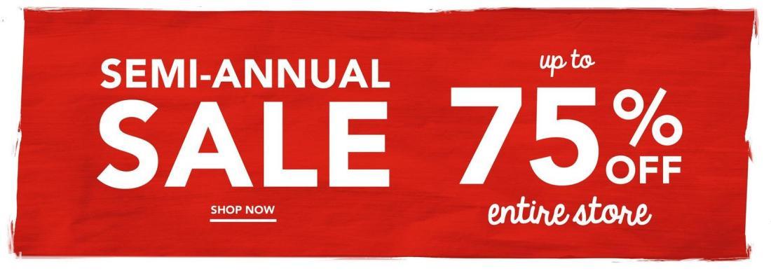Gymboree Semi Anual Sale