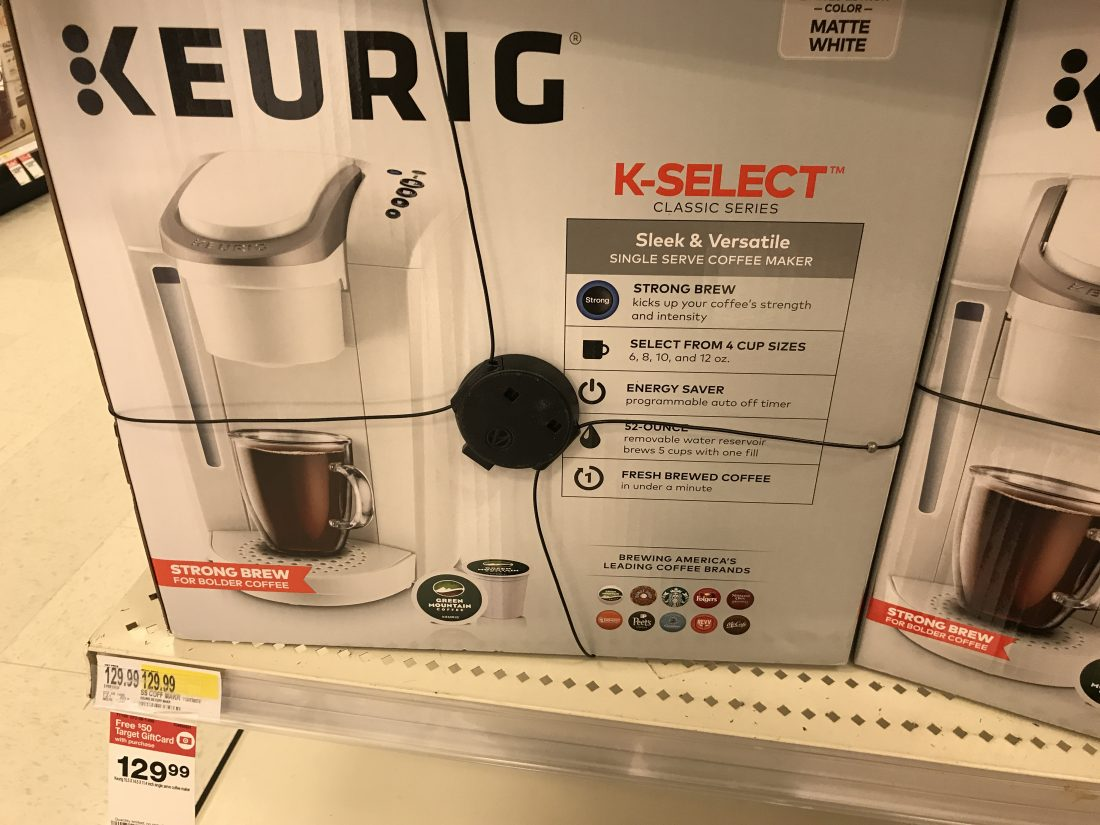 Buy A Keurig Coffee Maker And Get Back A 50 Target Gift