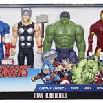 Marvel Titan Hero Series Avengers 4 Pack