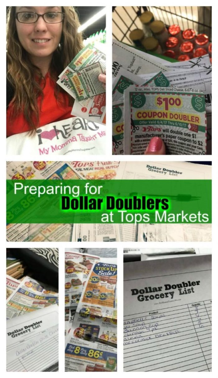Preparing For Tops Dollar Doublers