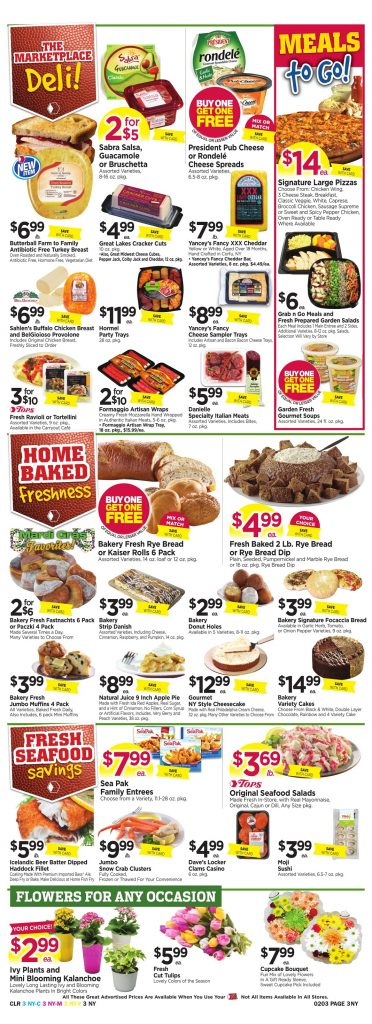 Tops Markets Ad Preview Week 1 28 18 Page 3