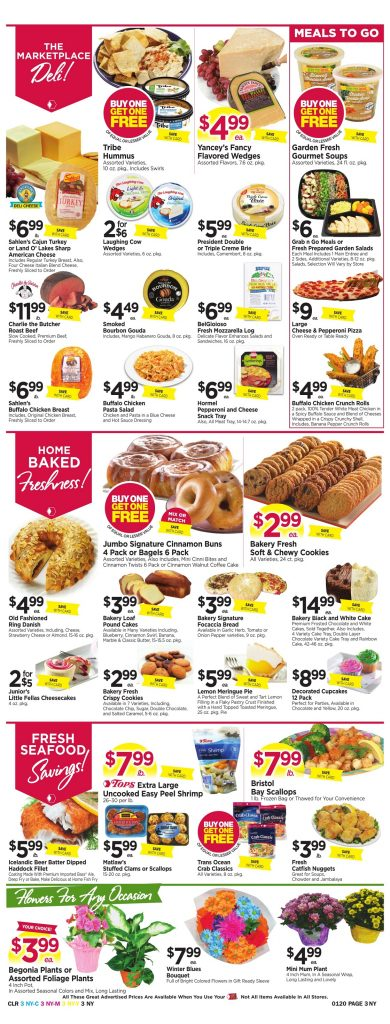 Tops Markets Ad Scan Preview Week 1 14 18 Page 3