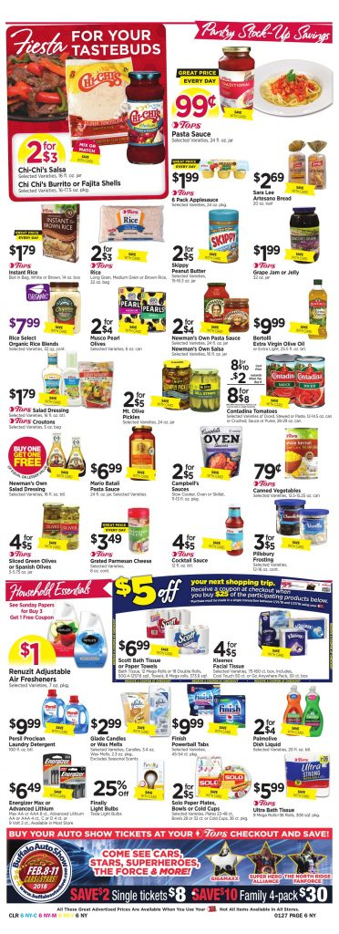 Tops Markets Ad Scan Week 1 21 18 Page 6