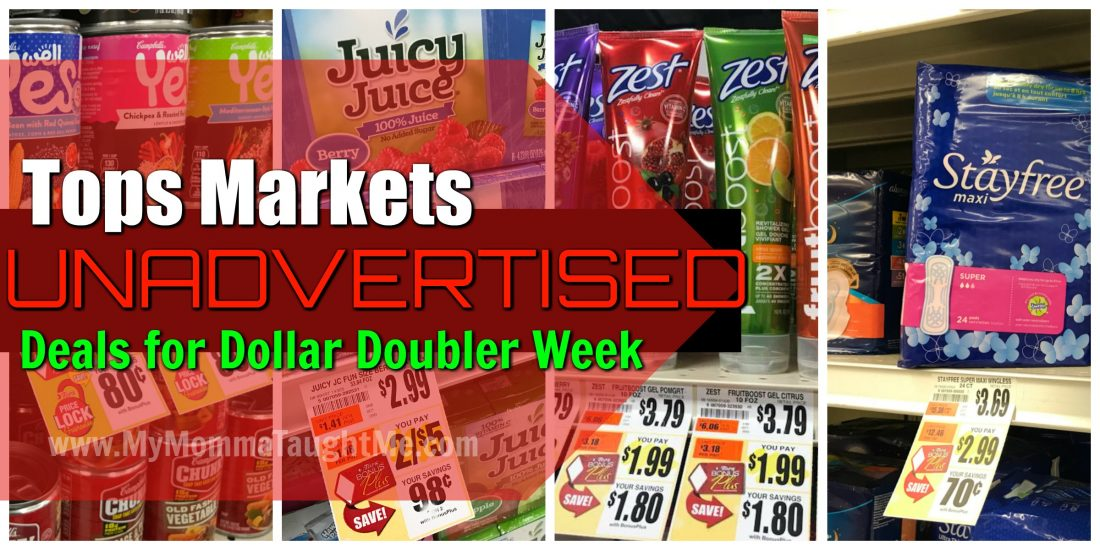 Tops Markets Unadvertised Deals Week Of Dollar Doublers 1 7 18