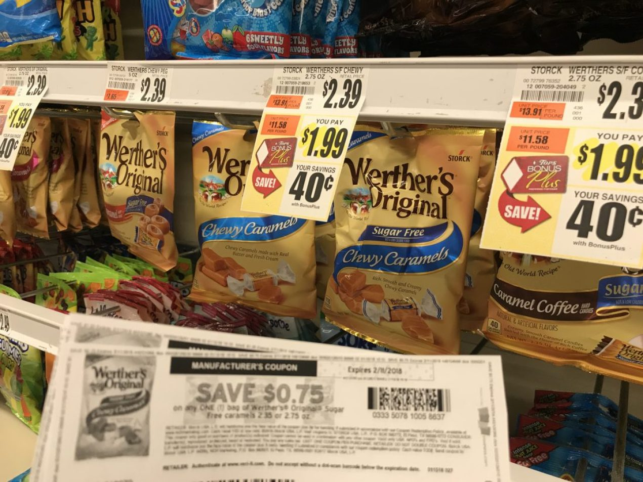 Werther's Caramels At Tops Markets (2)
