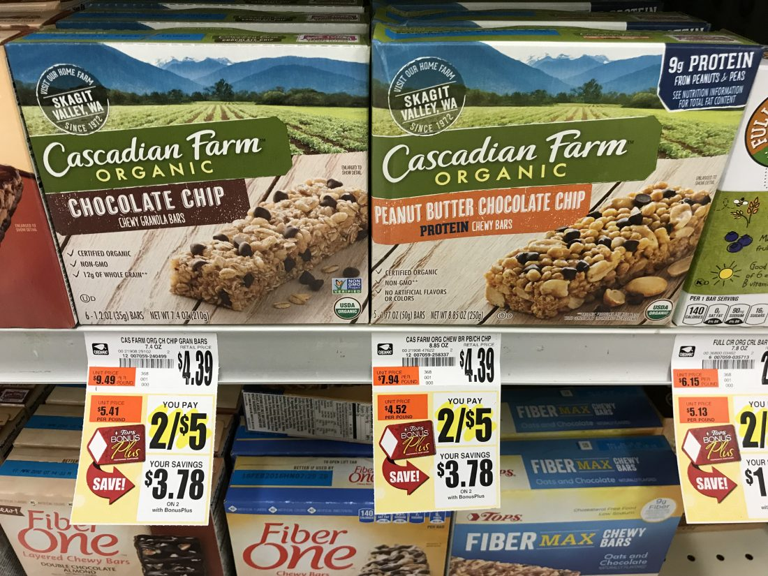 Cascadian Farms Deal At Tops Markets